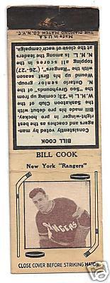 Hockey Matchbook 14