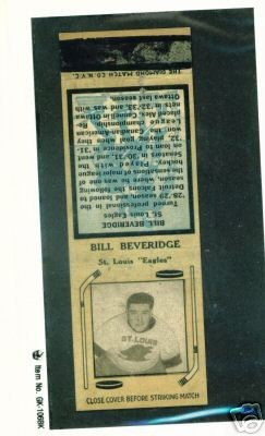 Hockey Matchbook 16