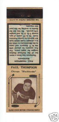 Hockey Matchbook 1936 4