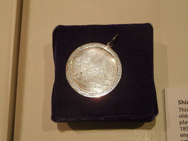Shintie Medal 1852  Shinty