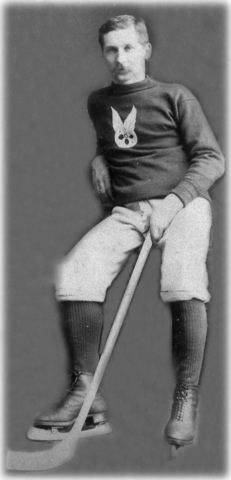 Tom Paton - Montreal Hockey Club - Montreal AAA - Circa  1888