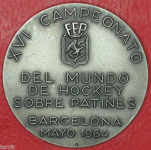 Field Hockey Medal 1964 2b