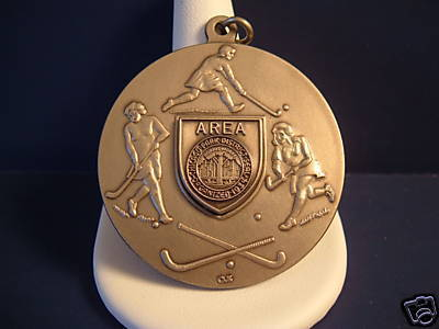 Field Hockey Medal 1986 Chicago