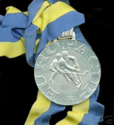 Ice Hockey Medal 1990 1 Europa Cup