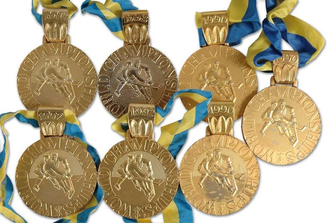 World Championships Ice Hockey Medals