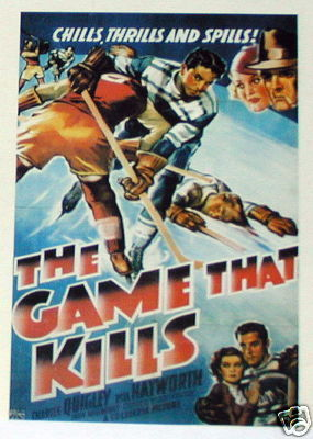 Hockey Movie Poster 1937