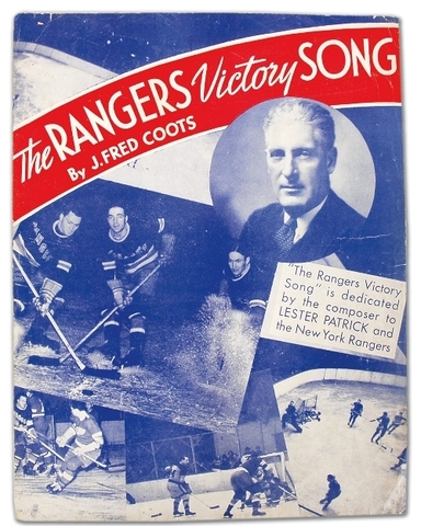 The Rangers Victory Song 1940