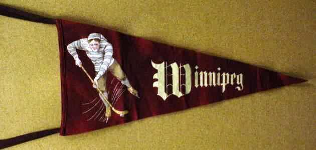 Winnipeg Hockey Pennant 1910