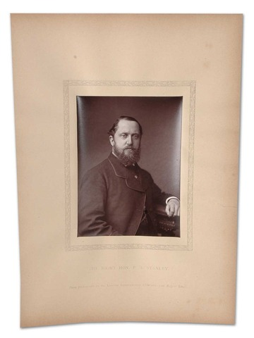 Lord Stanley of Preston Photo 1881