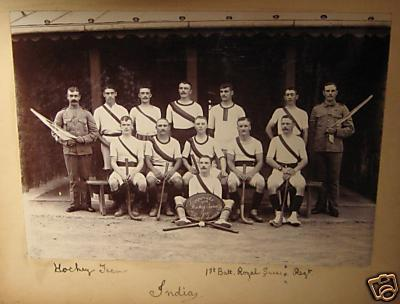 Field Hockey Team - India - 1902 - England 1st Battalion