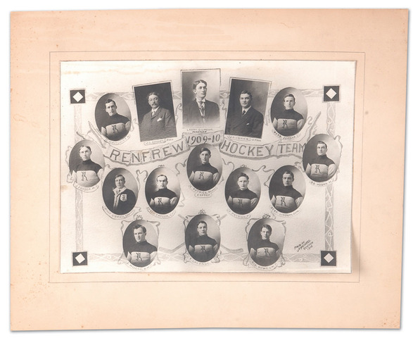 Renfrew Hockey Team 1909-10 photo