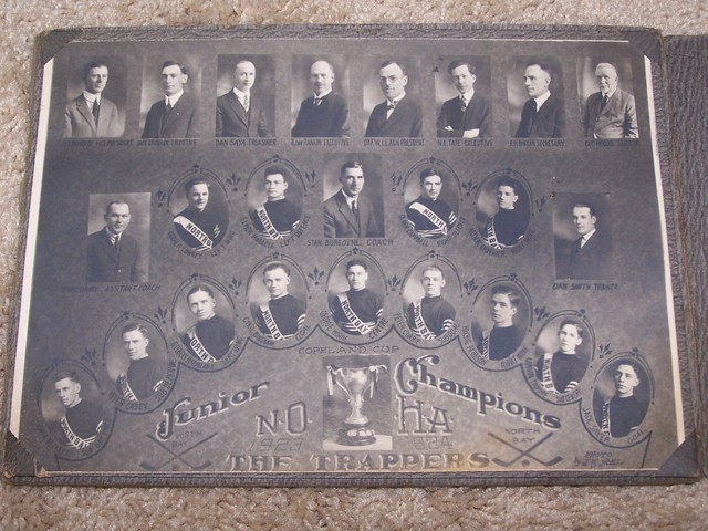 The Trappers Northern Ontario Hockey Association Champions 1924