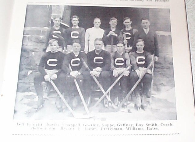 Hockey Photo 1925 Clinton