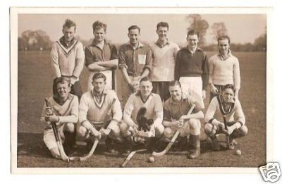 Hockey Photo 1950s 1
