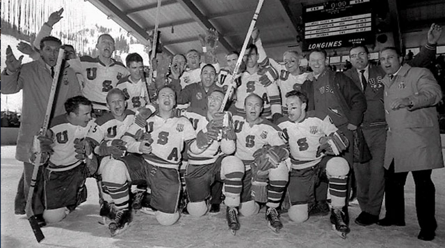 1960 Team USA - Winter Olympics Champions - Squaw Valley, USA