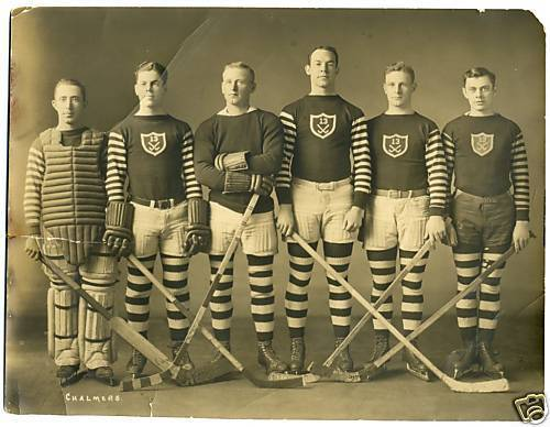 Hockey Photo Early 1900s A