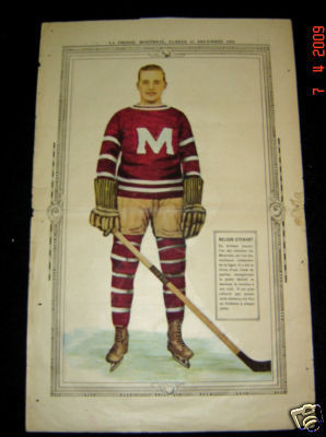 Hockey Picture 1928 Nelson Stewart 1