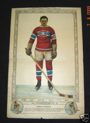 Hockey Picture 1929 Armond Mondou