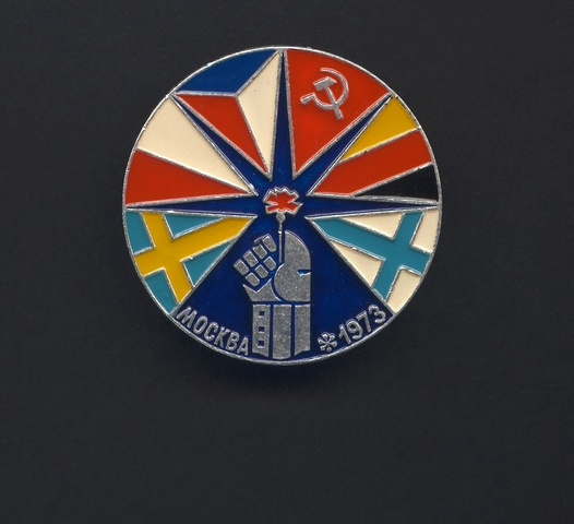 Hockey Pin 1973 X