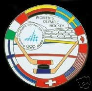 Hockey Pin Womens Olympic 2006