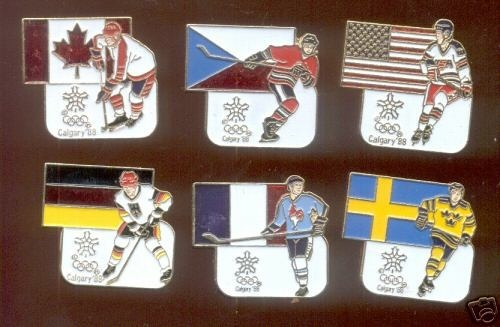 Hockey Pins 1988
