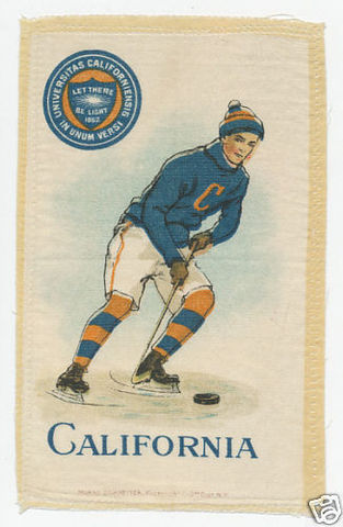 Hockey Silk California 1910