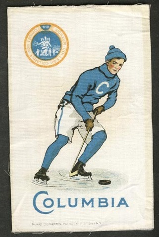 Hockey Silk Columbia 1910