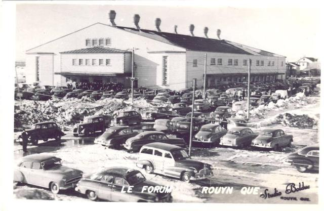 Le Forum - Ice Hockey Arena - 1950 - Rouyn - Quebec