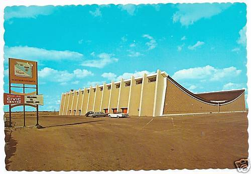 Hockey Postcard Arenas Moose Jaw