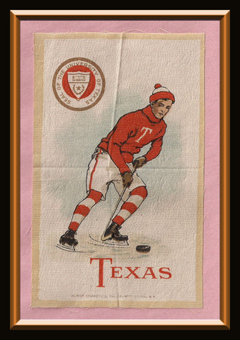Hockey Silk Texas 1910
