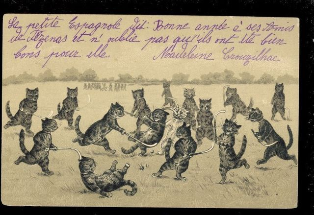 Hockey Postcard 1904