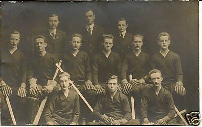 Hockey Postcard 1905ish