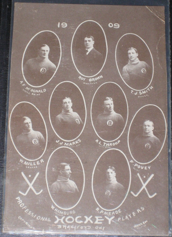 Brantford Professional Hockey Club 1909