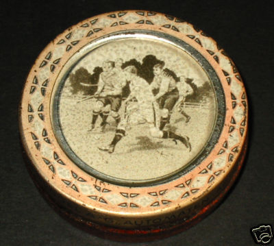 Hockey Sweets Tin 1912