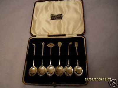 Sterling Silver Sports Spoons