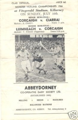 Hockey Program Hurling 1966