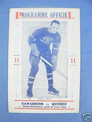 Hockey Program 1934 5