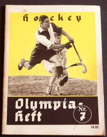 Hockey Program 1936 1 Olympics