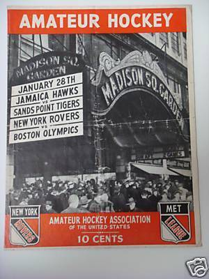 Hockey Program 1945 2