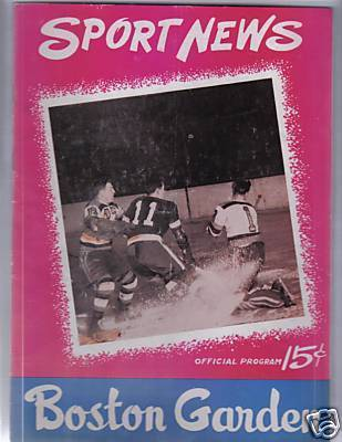 Hockey Program 1946
