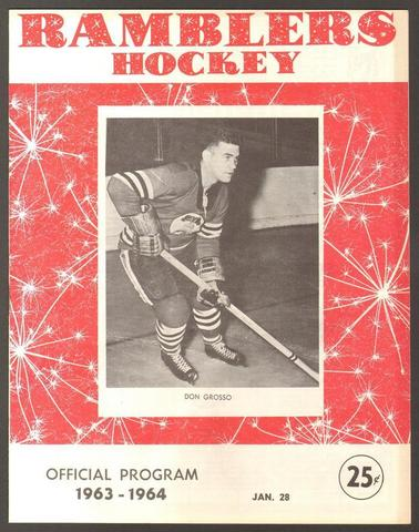 Hockey Program 1964 3