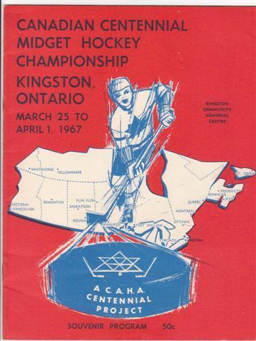 Hockey Program 1967