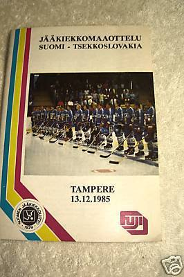 Hockey Program 1985 3