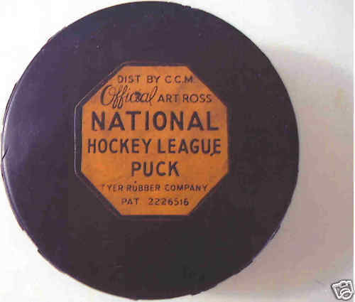 Hockey Puck 1960 Olympic Game Winner USA vs USSR Jack Gotta Pick