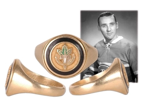 Hockey Ring 1978 Hall Of Fame