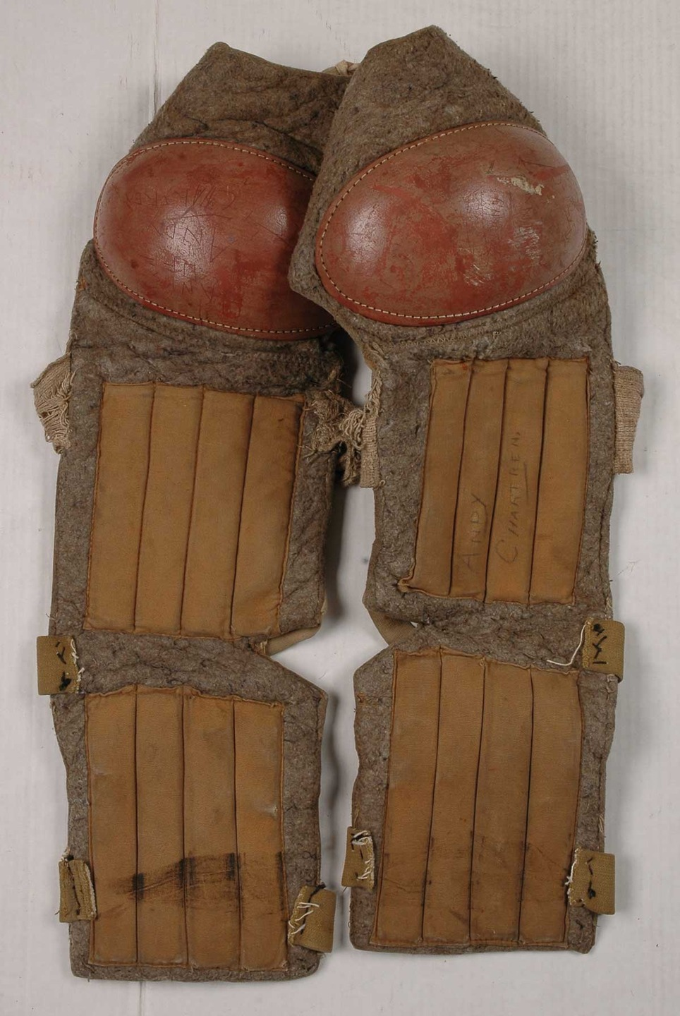 Hockey Shin Guards Vintage Hockeygods