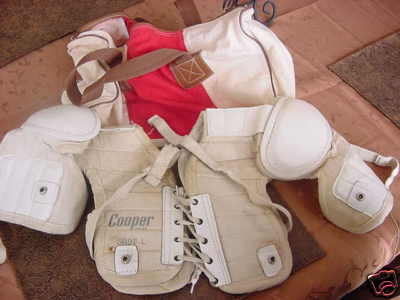 Hockey Shoulder Pads 1960s 1