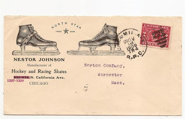 Hockey Stamp Fdc 1909