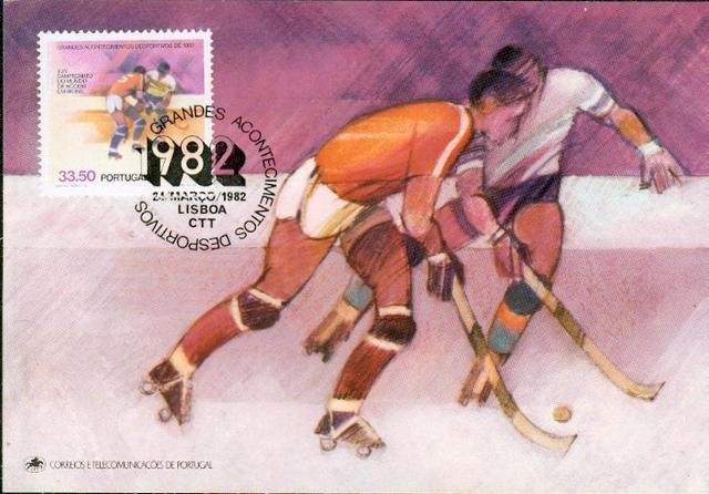 Hockey Stamp Fdc 1982