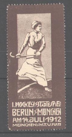 Hockey Stamp 1912 1